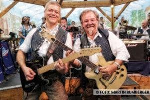 Musik: Die Kirchdorfer spielen jeden Tag traditionelle Blasmusik und Wiesn-Klassiker