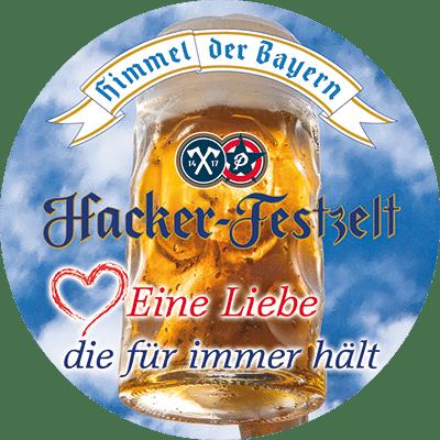 Souvenirs Hacker-Festzelt - Button